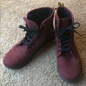 Dr. Martens canvas boots